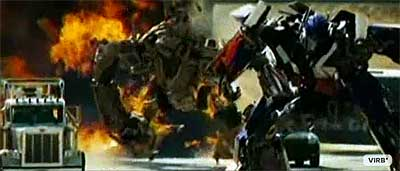 Bonecrusher vs. Optimus Prime
