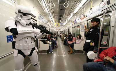 Stormtrooper In Japan