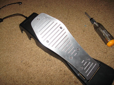 Rock Band Drum Pedal Mod