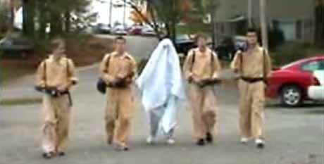 Ghostbusters Prank