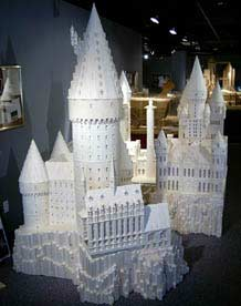 Hogwarts Made From Matchsticks