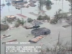 Helicopter Search for Hurricane Katrina Survivors