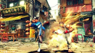 Street Fighter IV Screenshots