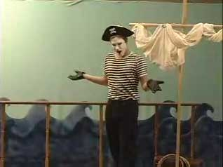 Pirate Mime