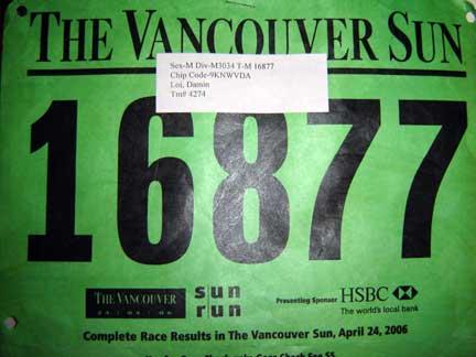 vancouver sun run. Vancouver Sun Run